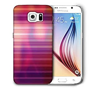 Snoogg Pink Color Design Printed Protective Phone Back Case Cover for Samsung Galaxy S6/S IIIIII