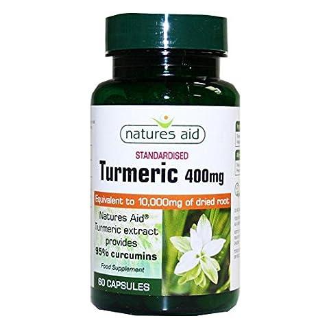 Natures Aid | Turmeric 10,000mg | 2 x 60 capsules