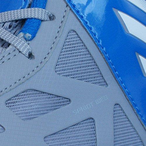 Adidas Pazzo Ombra Mens formatori / scarpe-grigio-6 Azzuro-Grigio