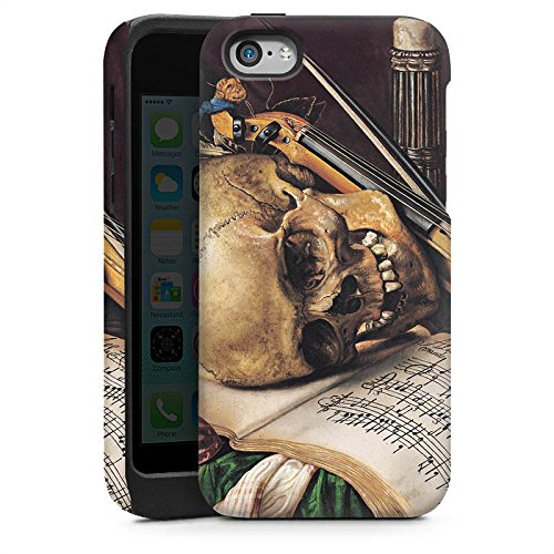 Apple iPhone 5 Housse étui coque protection Nature morte Vanitas Art Art Cas Tough brillant