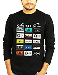 TBT ™ Graphic Men's Full Sleeves Music T shirt (Vintage Fan T shirt)