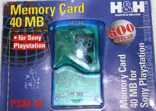 Playstation 1 - PS One 40 MB Memory Card