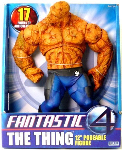 Fantastic-4-Deluxe-Roto-12-Thing-Action-Figure-by-Toy-Biz-World-Wide