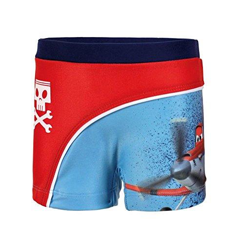 Offizielles Disney Planes Jungen Boxer Swim Shorts–Alter 5Jahre Gr. 5 Jahre, rot / blau (Alte Boxer-shorts)