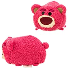 Disney Store Tsum Tsum - Mini bambola di peluche dell'orsacchiotto Lotso Grandi Abbracci, personaggio del film di animazione