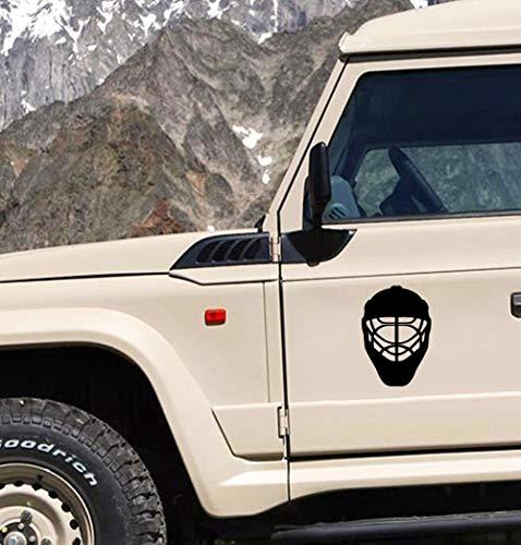 auto aufkleber Auto-Sport-Eishockey-Helm-Auto-Aufkleber für Stoßfenster-LKW-Dekor für Auto-Laptop-Fenster-Aufkleber