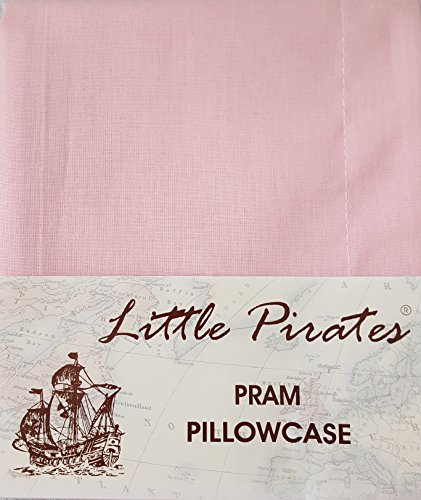 BRAND NEW PINK BABY PRAM/COTBED CRIB MOSES BASKET PILLOWCASE 100% LUXURY BRUSHED COTTON