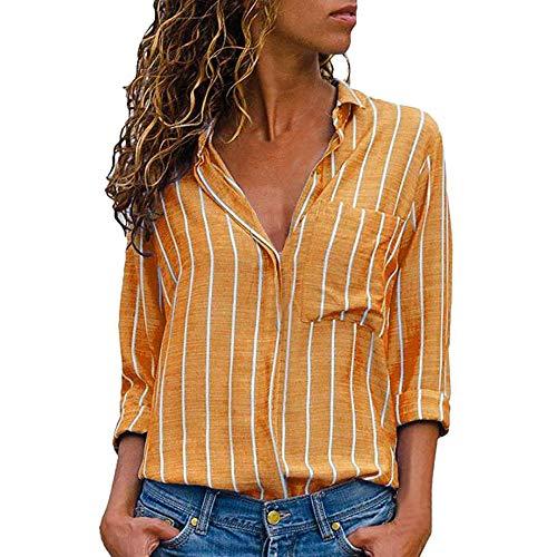 Clearance Sale [S-2XL] ODRDღ Damen T-Shirt Frauen Langarmshirts -
