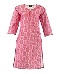 2dots Women's Cotton Regular Fit Kurti - B00VK5UFGS