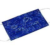 10 piezas Desechables Earloop Face Mask Filtro de polvo Boca cubierta azul