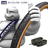 Pneu + chambre Michelin 261/25/8-44/584pneu vélo balloncino 650B