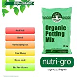 Green and Pure - Ready to Use Organic Potting Mix | Plant manure | Potting Soil - 20Kg ( 1 x 20Kg Bag ) for Kitchen | Home | Terrace Garden