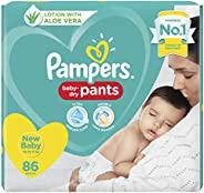 Pampers Diaper Pants,  Baby, 86 Count