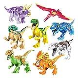 15000P 8Pack Dinosaurio Jurásico Mundo Bloques de Construcción 3D...