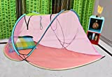 #8: Amazinghind Multicolor Foldable Mosquito Net For Single Bed