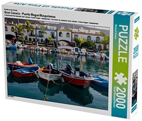 Preisvergleich Produktbild Ein Motiv aus dem Kalender Gran Canaria - Puerto Mogan/Maspalomas 2000 Teile Puzzle quer (CALVENDO Orte)