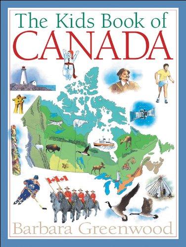The Kids Book of Canada por Barbara Greenwood