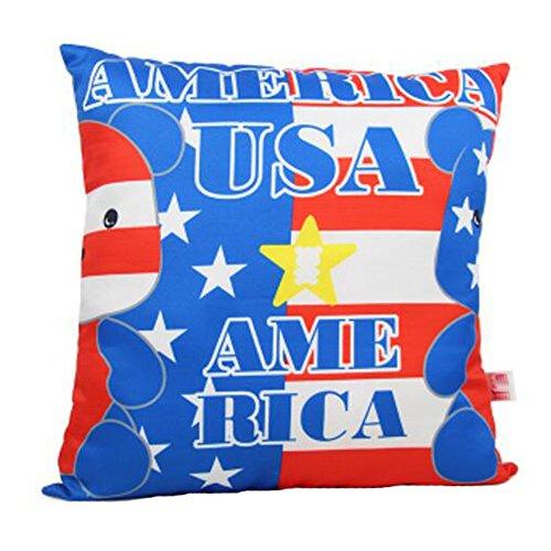 Dekorative Kissenbezug Büro / Sofakissen Flag Design Dekokissen-USA (Usa Kissen Flag Dekorative)