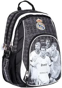 Official REAL MADRID TEAM School Bag Backpack Ronaldo Ben