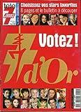 Télé 7 jours - n°2049 - 04/09/1999 - Les 7 d'or : Votez !