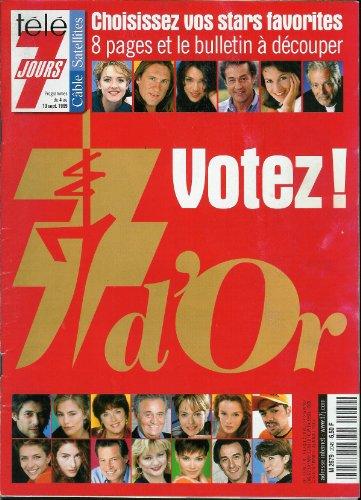 Tl 7 jours - n2049 - 04/09/1999 - Les 7 d'or : Votez !