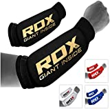 RDX MMA Forearm Support Brace Boxing Sleeve Pads Guard Compression Gym Wrap Padded Protector