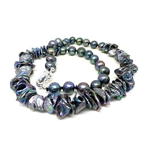 black-blue-pearl-and-keshi-pearl-gemstone-necklace-black-pearl-necklace