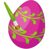 Färbung für Kind - Ostern