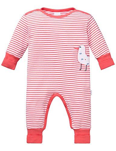 Schiesser Baby-Mädchen Zweiteiliger Schlafanzug Anzug mit Vario, Rot (Koralle 517), 56