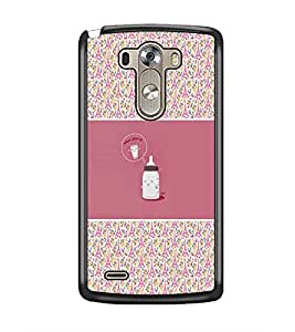 PrintDhaba Funny Image D-4156 Back Case Cover for LG G3 (Multi-Coloured)