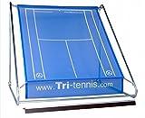 Tri-tennis XXL Tennis Wand (Blau)