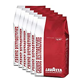 Lavazza Grande Ristorazoine Coffee Beans (1 Pack of 6 Bags)
