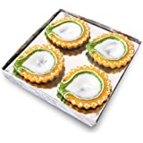 Diwali Gift Diya Set Of 4, Diwali Colored Diya Set Of Four
