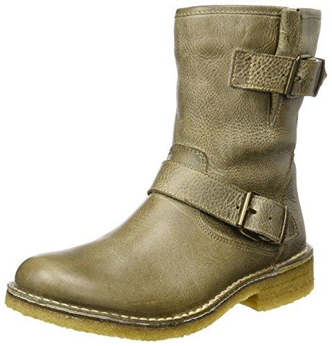 Ca'Shott Damen A10253 Biker Boots, Beige (Mushroom West), 40 EU