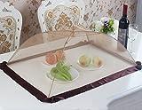 Food cover tents Faltbare Tischdecke/Anti-Fliegen-Nahrungsmittelabdeckung/rechteckige Nahrungsmittelabdeckung/runde Abdeckungsabdeckung/Speisetischregenschirm (größe : 70*50CM)