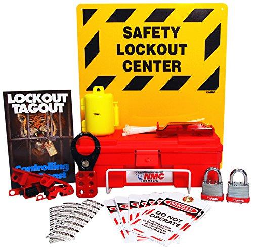 Preisvergleich Produktbild NMC lok2 11 Stück Elektrische Lockout Center Kit,  35, 6 cm Breite x 40, 6 cm Höhe