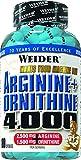 Weider Arginine plus Ornithine 4000- 180 Kapseln