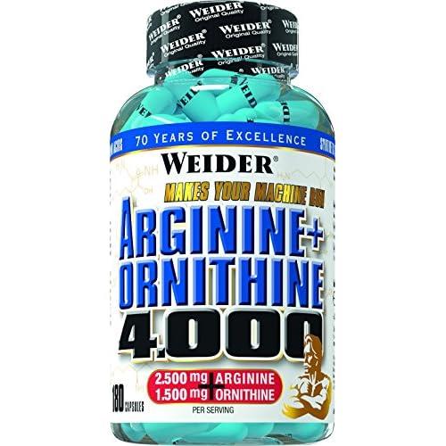 51zAneMu1sL. SS500  - Weider Arginine Plus Ornithine 4000157G Pack of 1