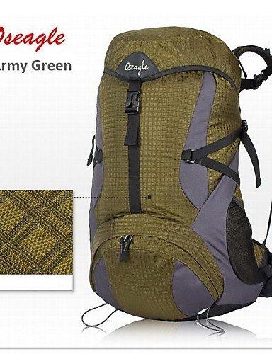 GXS oseagle Camping Rucksack Wandern Trekking Outdoor Militär Travel groß Tasche - Armeegrün