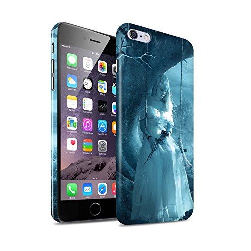 Officiel Elena Dudina Coque / Clipser Brillant Etui pour Apple iPhone 6S+/Plus / Verre brisé Design / Art Amour Collection Luz Sombra