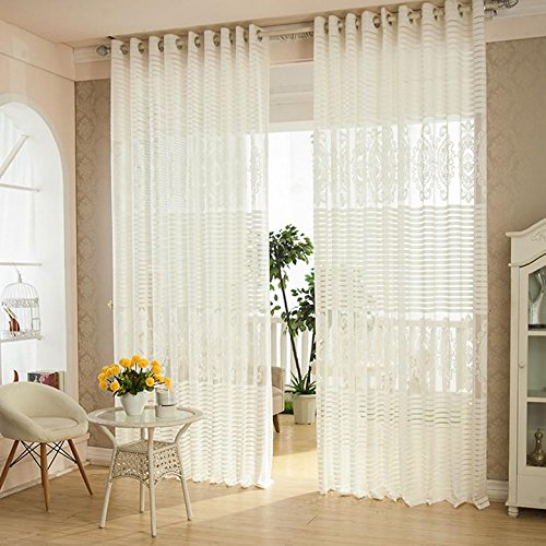 Fenster Vorhang Jacquard Tür Vorhang Panel Slot Top Plain, Größe 39 indow Sheer Curtains Jacquard Door Curtain Panel Slot Top Plain, size 39 -