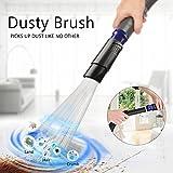 Dust Bürste Universal, POAO 30-35mm Staubsaugeraufsatz Pinsel Staubsaugerbürste Reinigungswerkzeuge für Air Vents, Tastaturen, Schubladen, Auto, Pflanzen