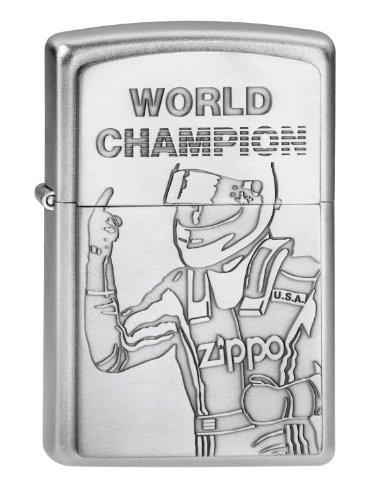 Zippo 2002949 Feuerzeug World Champion Emblem