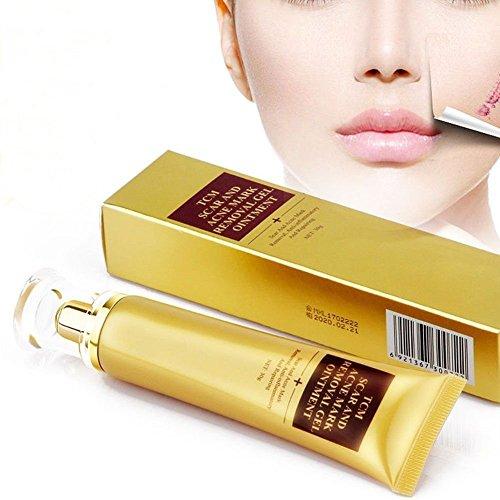 Narbencreme, Narbe Creme Narbe Gel Narbe Behandlung, HailiCare Scar Fade Cream für Gesicht und Körper - Behandeln Sie neue und alte Narben - Aknenarben, Dehnungsstreifen und Narben - Distressed Cream