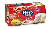 Hero Baby Plátano y Manzana - Paquete de 2 x 80 gr - Total: 160 gr