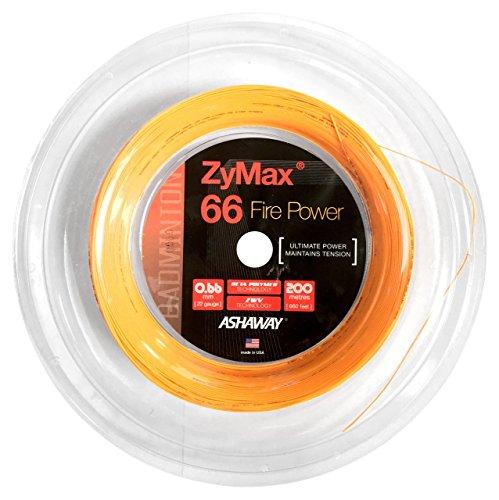 ASHAWAY Zymax 66Fire Power Badminton 200m (Orange)
