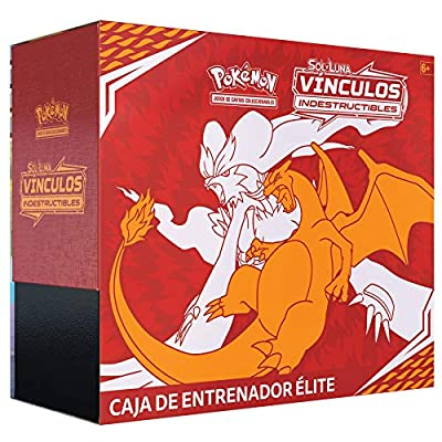 Pokemon JCC- Caja de Entrenador Élite Vínculos Indestructibles, Color (POETUB01) de Pokemon JCC