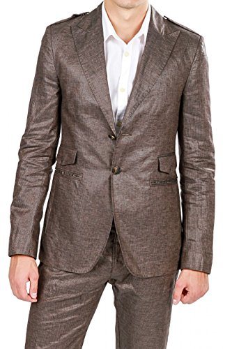 dirk-bikkembergs-jacket-blazer-sack-coat-fanras-color-dark-brown-size-48