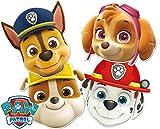 6 Masken * PAW PATROL * als Verkleidung und Mitgebsel für Mottoparty und Kindergeburtstag // CONO