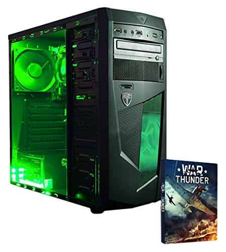 Este juego de PC cuenta con un procesador AMD A8 9600 APU, un procesador de cuatro núcleos combinado con integrada Radeon R7 gráficos, para un mejor rendimiento visual en los juegos. Por último, se incluye un disco duro de 1 TB, proporcionando sufici...